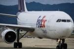 あゑぱかさんが、関西国際空港で撮影したフェデックス・エクスプレス A300F4-605Rの航空フォト(飛行機 写真・画像)