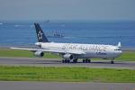 ちゃぽんさんが、中部国際空港で撮影したルフトハンザドイツ航空 A340-313Xの航空フォト(写真)
