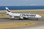 yabyanさんが、中部国際空港で撮影したフィンエアー A340-313Xの航空フォト(写真)