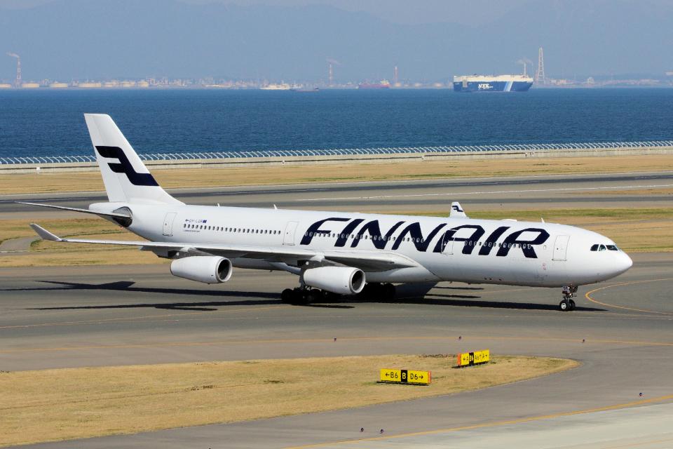 yabyanさんのフィンエアー Airbus A340-300 (OH-LQB) 航空フォト