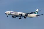 mameshibaさんが、羽田空港で撮影したキャセイパシフィック航空 777-367/ERの航空フォト(写真)