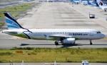 鉄バスさんが、関西国際空港で撮影したエアプサン A320-232の航空フォト(飛行機 写真・画像)