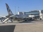 ヒロリンさんが、フランクフルト国際空港で撮影したエティハド航空 787-9の航空フォト(写真)
