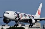 蒼くまさんが、伊丹空港で撮影した日本航空 767-346/ERの航空フォト(写真)