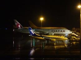 ukokkeiさんが、中部国際空港で撮影したカタール航空カーゴ 777-FDZの航空フォト(写真)