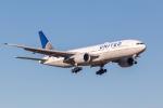 Y-Kenzoさんが、成田国際空港で撮影したユナイテッド航空 777-222/ERの航空フォト(写真)