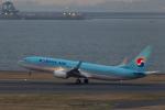 Y-Kenzoさんが、羽田空港で撮影した大韓航空 737-8SHの航空フォト(写真)