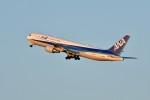 おかめさんが、羽田空港で撮影した全日空 767-381/ERの航空フォト(写真)
