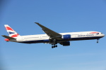 安芸あすかさんが、ロンドン・ヒースロー空港で撮影したブリティッシュ・エアウェイズ 777-336/ERの航空フォト(写真)