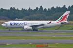 amagoさんが、成田国際空港で撮影したスリランカ航空 A330-243の航空フォト(写真)