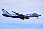 Yukipaさんが、横田基地で撮影したナショナル・エア・カーゴ 747-428(BCF)の航空フォト(写真)