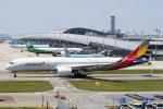 panchiさんが、関西国際空港で撮影したアシアナ航空 A350-941XWBの航空フォト(写真)