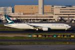 武彩航空公司(むさいえあ)さんが、羽田空港で撮影したキャセイパシフィック航空 777-367/ERの航空フォト(写真)