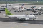 matsuさんが、フランクフルト国際空港で撮影したエア・バルティック 737-522の航空フォト(写真)
