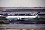 まいけるさんが、羽田空港で撮影したキャセイパシフィック航空 777-367/ERの航空フォト(写真)