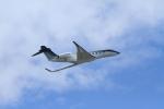 空旅さんが、成田国際空港で撮影したウィルミントン・トラスト・カンパニー G650 (G-VI)の航空フォト(写真)