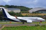 臨時特急7032Mさんが、福岡空港で撮影したオランダ政府 737-700 BBJの航空フォト(写真)