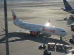 ふみたびさんが、福岡空港で撮影したタイ・ライオン・エア 737 MAX 9の航空フォト(飛行機 写真・画像)
