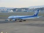 ふみたびさんが、福岡空港で撮影した全日空 777-281の航空フォト(写真)