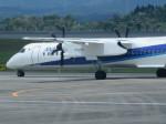 ふみたびさんが、鹿児島空港で撮影したANAウイングス DHC-8-400の航空フォト(飛行機 写真・画像)