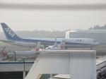 ふみたびさんが、鹿児島空港で撮影した全日空 767-381/ERの航空フォト(飛行機 写真・画像)