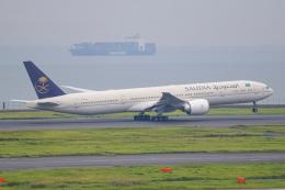 ryu330さんが、羽田空港で撮影したサウディア 777-368/ERの航空フォト(写真)