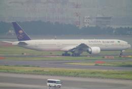 SFJ_capさんが、羽田空港で撮影したサウディア 777-368/ERの航空フォト(写真)