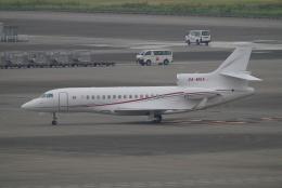 SFJ_capさんが、羽田空港で撮影したMonaco Government Falcon 8Xの航空フォト(写真)