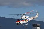 蒼い鳩さんが、松本空港で撮影した国土交通省 地方整備局 412EPの航空フォト(写真)