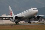 つっさんさんが、熊本空港で撮影した日本航空 767-346/ERの航空フォト(写真)