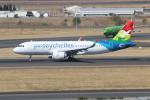 NIKEさんが、O・R・タンボ国際空港で撮影したエアセイシェル A320-251Nの航空フォト(飛行機 写真・画像)