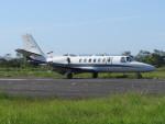 F.YUKIHIDEさんが、岡南飛行場で撮影した岡山航空 560 Citation Ultraの航空フォト(写真)