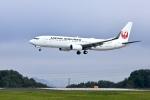くれないさんが、高松空港で撮影したJALエクスプレス 737-846の航空フォト(写真)
