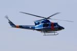 kaeru6006さんが、名古屋飛行場で撮影した岐阜県警察 412EPの航空フォト(写真)