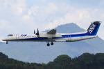 ひよっこさんが、福岡空港で撮影したANAウイングス DHC-8-402Q Dash 8の航空フォト(写真)