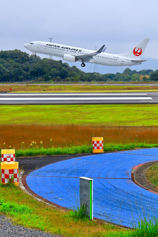 くれないさんのJALエクスプレス Boeing 737-800 (JA346J) 航空フォト
