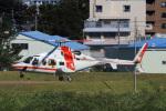 Wasawasa-isaoさんが、名古屋飛行場で撮影した朝日航洋 430の航空フォト(写真)