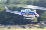 Nao0407さんが、松本空港で撮影した国土交通省 地方整備局 412EPの航空フォト(写真)