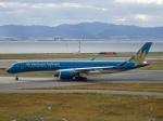 worldstar777さんが、関西国際空港で撮影したベトナム航空 A350-941XWBの航空フォト(写真)
