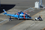 Wasawasa-isaoさんが、名古屋飛行場で撮影した愛知県警察 A109E Powerの航空フォト(写真)