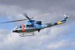 kumagorouさんが、宮城県角田市(角田中央公園)で撮影した山梨県警察 412EPの航空フォト(写真)