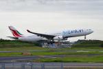 ポン太さんが、成田国際空港で撮影したスリランカ航空 A330-343Xの航空フォト(写真)