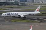 みっしーさんが、羽田空港で撮影した日本航空 777-346の航空フォト(写真)