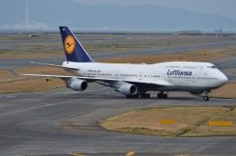 amagoさんが、関西国際空港で撮影したルフトハンザドイツ航空 747-430の航空フォト(飛行機 写真・画像)