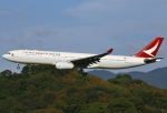 あしゅーさんが、福岡空港で撮影したキャセイドラゴン A330-343Xの航空フォト(写真)