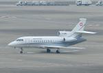 じーく。さんが、羽田空港で撮影したスイス空軍 Falcon 900EXの航空フォト(写真)