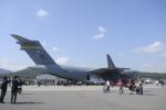 ユターさんが、ソウル空軍基地で撮影したアメリカ空軍 C-17A Globemaster IIIの航空フォト(写真)