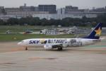ゆなりあさんが、福岡空港で撮影したスカイマーク 737-86Nの航空フォト(写真)