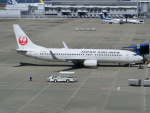 ヒロリンさんが、中部国際空港で撮影した日本航空 737-846の航空フォト(写真)