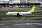 まいけるさんが、羽田空港で撮影したソラシド エア 737-86Nの航空フォト(写真)